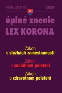 Aktualizácia 2020 III/5 Lex korona