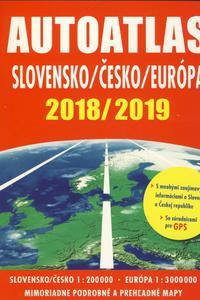 Autoatlas Slovensko Česko Európa 2018/2019