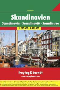 AA - Superatlas Skandinavien 1:250 000 * 1:400 000