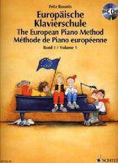 Evropská klavirní škola 1.+ CD