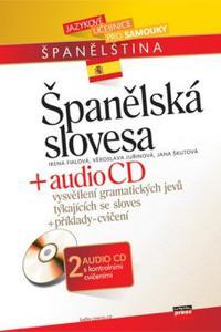 Španělská slovesa + audio CD