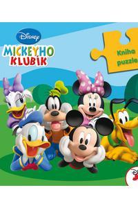 Mickeyho klub - Kniha s puzzle