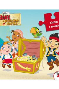 Jake a piráti z krajiny Nekrajiny - Kniha s puzzle