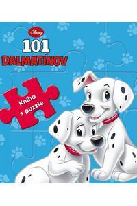 101 dalmatínov - kniha s puzzle