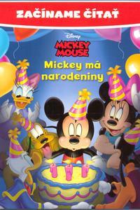 Mickey má narodeniny - Začíname čítať