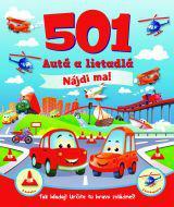 501 Autá a lietadlá - Nájdi ma!