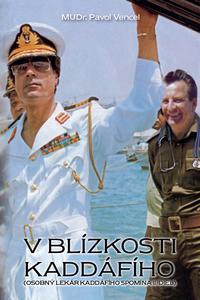 V blízkosti Kaddáfího