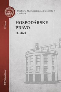 Hospodárske právo II. diel