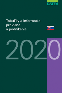 Tabuľky a informácie pre dane a podnikanie 2020