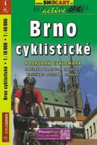 Brno cyklistické 1:18 000, 1: 40 000