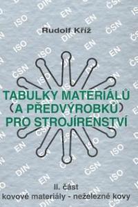 Tabulky materiálů a předvýrobků pro strojírenství III. část