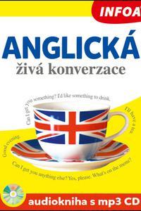 Anglická živá konverzace - Audiokniha s mp3 CD