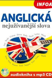 Anglická nejužívanější slova - Audiokniha s mp3 CD
