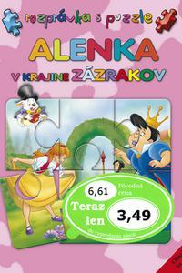 Alenka v krajine zázrakov - Rozprávka s puzzle