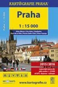 Atlas Prahy v měřítku 1:15 000