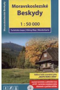 Moravskoslezské Beskydy 1:50 000