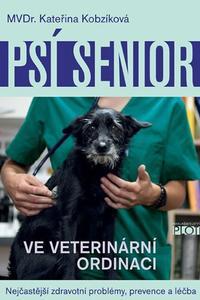 Psí senior ve vetiránární ordinaci