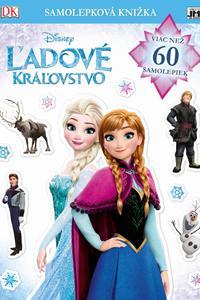 Samolepková knižka - Ľadové kráľovstvo