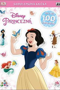 Samolepková knižka - Disney Princezná