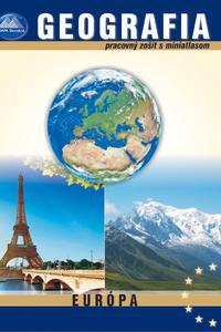 Geografia 8 pracovný zošit s miniatlasom Europa