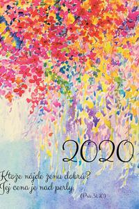 Diár pre veriacu ženu 2020