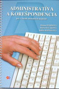 Administratíva a korešpondencia pre 3. ročník OA