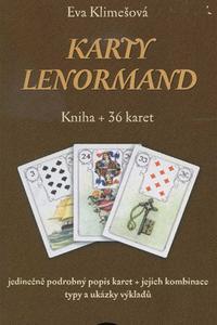 Karty Lenormand - Kniha + 36 karet