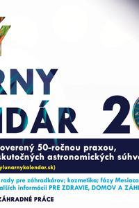 Lunárny kalendár 2019