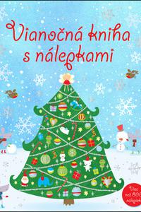 Vianočná kniha s nálepkami