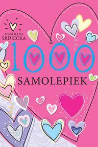 1000 samolepiek - Mám rada srdiečka