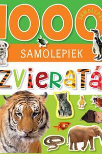 1000 samolepiek - Zvieratá