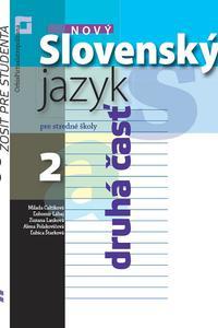 Nový Slovenský jazyk pre SŠ 2.ročník