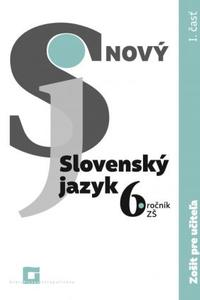 Nový Slovenský jazyk pre 6.ročník ZŠ