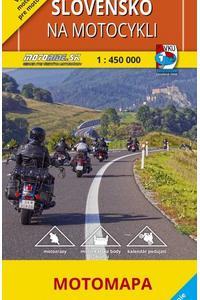 Slovensko na motocykli 1:450 000