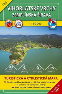 Vihorlatské vrchy - Zemplínska šírava 1:50 000 (6.vydanie)