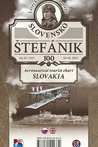 Letecká turistická mapa Slovensko Štefánik