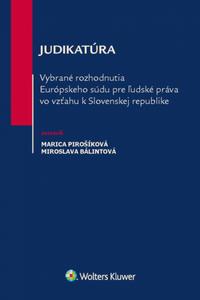 Vybrané rozhodnutia ES pre ľudské práva vo vzťahu k SR