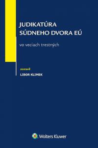 Judikatúra Súdneho dvora EÚ vo veciach trestných