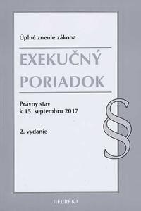 Exekučný poriadok. Právny stav k 15. septembru 2017