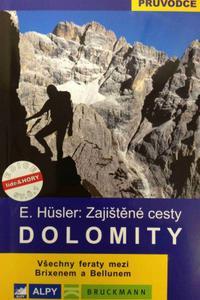 Dolomity - zajištěné cesty