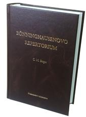 Bönninghausenovo repertorium