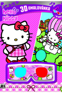 3D omalovánka Hello Kitty