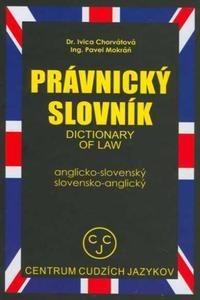 Právnický slovník anglicko - slovenský, slovensko - anglický