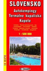 Automapa Slovensko 1:500 000