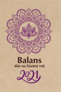 Balans diár na šťastný rok 2021