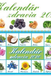 Kalendár zdravia 2020
