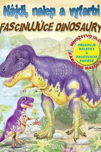 Nájdi, nalep a vyfarbi - Fascinujúce dinosaury