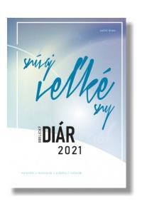 Biblický diár 2021 - modrý