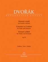 Koncert pro housle a orchestr a moll op. 53 - partitura