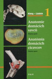 Anatomie domácích savců 1 / Anatómia domácich cicavcov 1